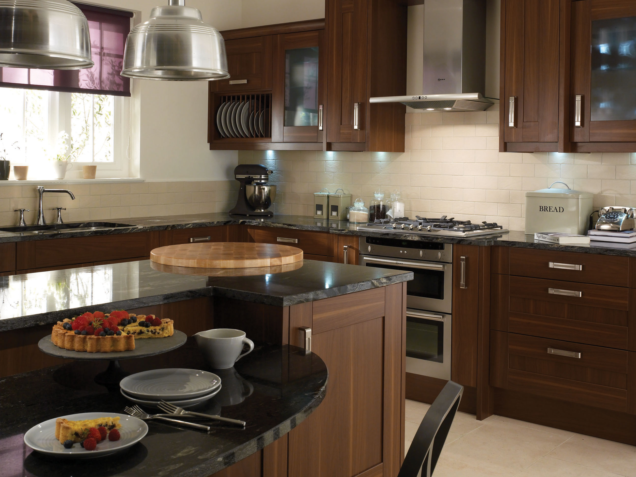Seton walnut from eaton kitchen designs wolverhampton for Walnut kitchen designs
